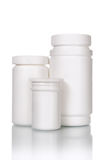 Medical bottles Royalty Free Stock Photography