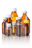 Medical bottles Royalty Free Stock Photos