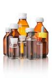 Medical bottles Royalty Free Stock Photos
