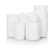 Medical bottles Stock Photo