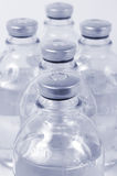 Medical bottles. For infusions with physiologic saline Royalty Free Stock Image