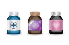 Medical bottles,vector Stock Photo