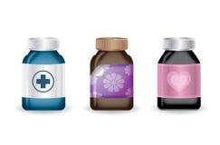 Medical bottles,vector Stock Photo