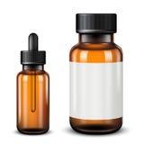 Medical bottles Royalty Free Stock Photo