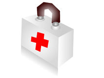 Medical box Royalty Free Stock Images