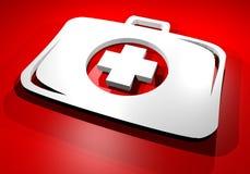 Medical box symbol Stock Photos