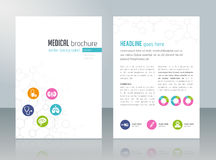 Medical Brochure Template Stock Photos