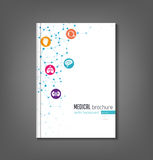Medical Brochure Template Royalty Free Stock Image
