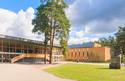 Medical building health resort.  Druskininkai, Lithuania Royalty Free Stock Photo