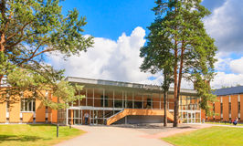 Medical building health resort.  Druskininkai, Lithuania Stock Photo