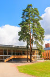 Medical building health resort.  Druskininkai, Lithuania Stock Images