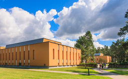Medical building health resort. Druskininkai, Lithuania Stock Photography