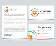 Medical Business Cards Royalty Free Stock Photography