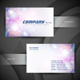 Medical business cards or visiting card. Stock Images
