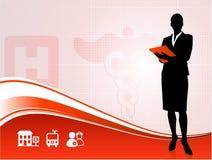 Medical Businesswoman Stock Image