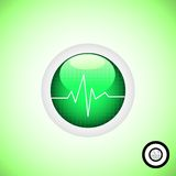Medical Button Stock Photography