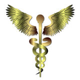 Medical Caduceus Symbol Stock Photography