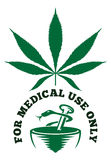 Medical cannabis  illustration Royalty Free Stock Photos