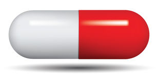 Medical capsule. Stock Photos