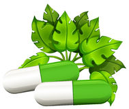 Medical capsules Royalty Free Stock Photography