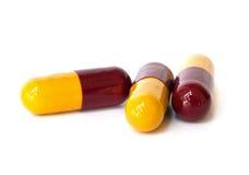 Medical capsules . Stock Image
