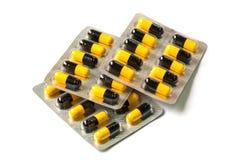 Medical capsules Stock Photos