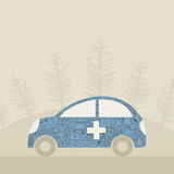 Medical car Stock Photography