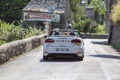Medical Car - Tour de France 2018 Stock Image