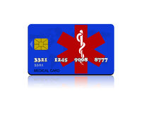 Medical card Royalty Free Stock Image