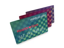 Medical card Stock Photos