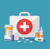 Medical care concept Stock Images