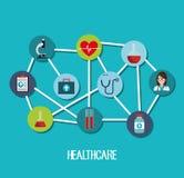 Medical care design. Illustration eps10 graphic Stock Photos