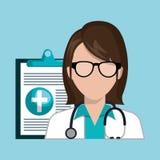 Medical care design. Illustration eps10 graphic Royalty Free Stock Image