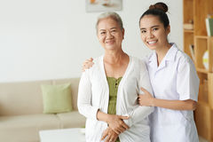 Medical care of patient Royalty Free Stock Images