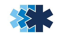 Medical Cascade Transport. Logo Design Template Vector Royalty Free Stock Photos