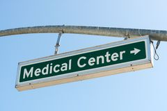 Medical Center Right Stock Image