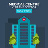 Medical centre. Visit the doctor. Hospital and health care. Royalty Free Stock Photo
