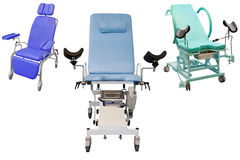 Medical chairs Royalty Free Stock Images