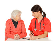 Medical check up stock images