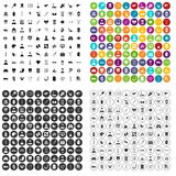 100 medical checkup icons set vector variant. 100 medical checkup icons set vector in 4 variant for any web design isolated on white Royalty Free Stock Images