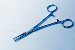 Medical clamp stock image
