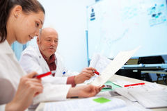 medical classroom Stock Photography