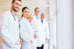Medical clinic staff stock photos