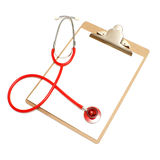 Medical Clipboard Stock Image