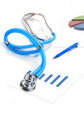 Medical collage. Royalty Free Stock Photography