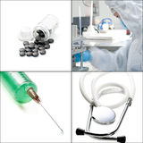 Medical collage Royalty Free Stock Images
