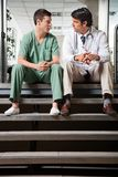 Medical Colleagues Having Discussion Stock Photography