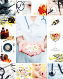 Medical collection Royalty Free Stock Image