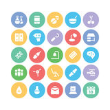 Medical Colored Vector Icons 8 Royalty Free Stock Images
