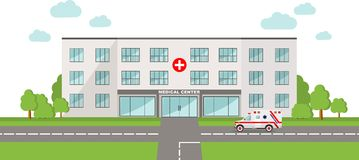 Medical concept. Panoramic background with Royalty Free Stock Image